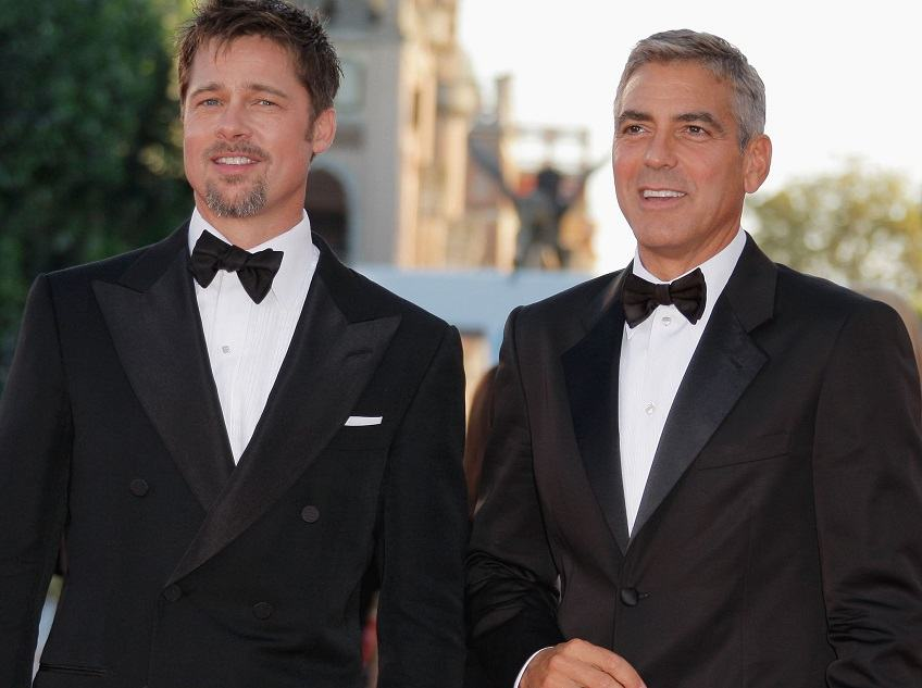 more photos c7ccc 85563 Le scarpe calabresi di Clooney e Pitt volano in Usa