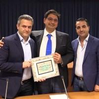 Le gelaterie 'Cesare' e 'Sottozero' premiate alla Regione: 'Calabria diventi capitale del gelato'