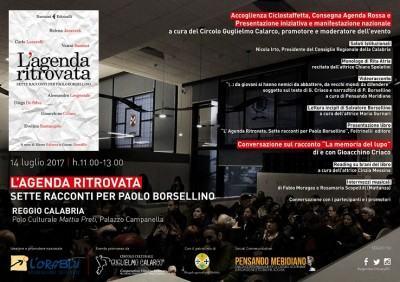 locandina agenda ritrovata - web