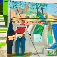La scuola è un'opera d'arte. A San Roberto il murales di Arcangela Scalella e Antonio Santucci - FOTO