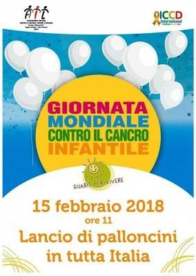15.02.2018 Locandina Giornata mondiale contro il cancro
