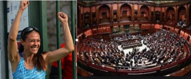 La reggina giusy versace eletta alla camera dei deputati for Ieri alla camera dei deputati