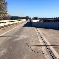 Ponte Allaro, lavori terminati. Countdown per la cerimonia di riapertura