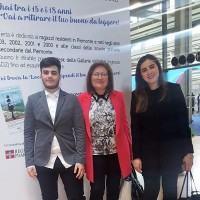 Gli allievi del Convitto Campanella alla cerimonia del Prix Goncourt