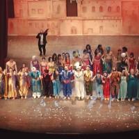 """Gli studenti reggini incantati dal Musical """"Le notti d'Oriente-Aladdin e la lampada dei desideri"""""""