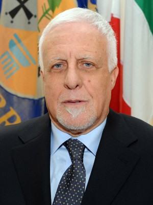 Il presidente Franco Sergio