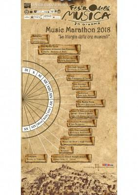 - Locandina - Music Marathon