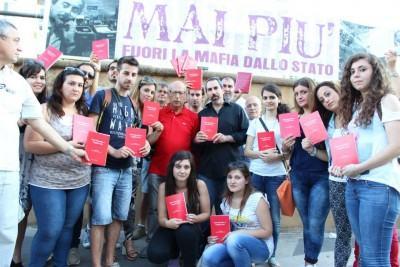 Universitari a Palermo il 19 luglio 2014