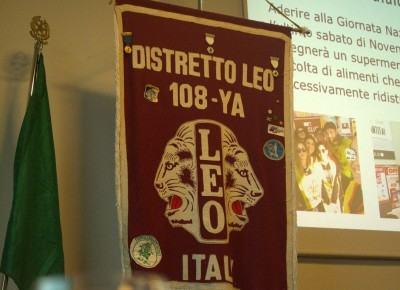 20180710_Primo Gabinetto Distrettuale dell'anno sociale Leo 2018-2019_03LabaroDistretto