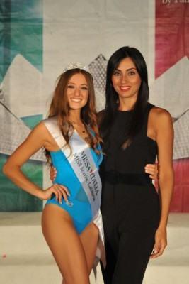Miss Sorriso Calabria 2018 Ludovica Dito con Linda Suriano