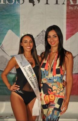 Miss cinema calabria 2018 Ilaria Pedone e Linda Suriano