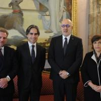 Reggio accoglie l'Ambasciatore della Tunisia Moez Sinaoui