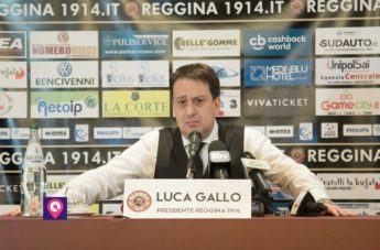 La conferenza stampa di Luca Gallo, nuovo presidente della Reggina