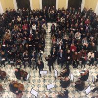 Insieme per la memoria, il concerto dell'Orchestra d'archi del Conservatorio Cilea