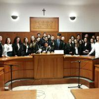 Al liceo 'Pizi' di Palmi la simulazione di un processo sul cyberbullismo - FOTO