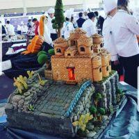 Rimini, chef calabrese presenta la Cattolica di Stilo fatta di pane