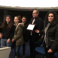 Studenti del Convitto Campanella premiati per il progetto