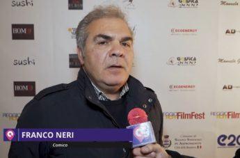 """Reggio Calabria Film Fest, Franco Neri: """"Giovani calabresi, sognate"""""""