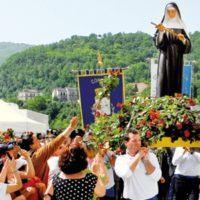 La reliquia di Santa Rita arriva in provincia di Reggio per l'inizio della Quaresima