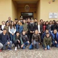 Gioia Tauro – I ragazzi delle scuole fanno visita al Comando dei Carabinieri
