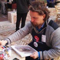 Festival di Fabriano, grande successo per l'artista reggino Alessandro Allegra