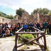 La via dei borghi attraversa la nobile città di Sant'Agata di Reggio