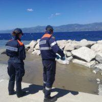 Guardia Costiera a tutela dell'ambiente: monitoraggio sul litorale reggino – FOTO