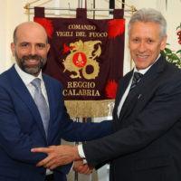 Passaggio di consegne al Comando Vigili del Fuoco di Reggio Calabria