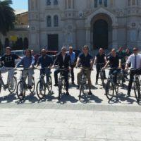 """Bike sharing a Reggio Calabria, Marino: """"La città cambia se cambiamo noi"""" – FOTO"""