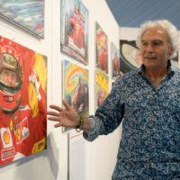 Al Motorshow 2Mari la vita di Schumacher attraverso le opere di Di Mario - FOTO