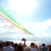 Le 'Frecce Tricolori' tornano a Reggio Calabria: ecco l'ultimo spettacolo