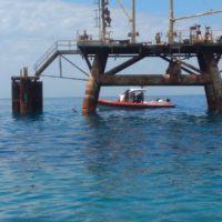 Saline Joniche, intervento dei tecnici Arpacal con la Guardia Costiera