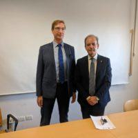 Il giurista André Janssen all'Università Mediterranea per il master in diritto privato europeo