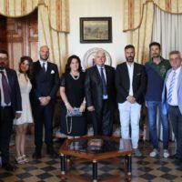 Reggio, visita di Sua Eccellenza Zef Bushati