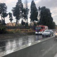 Reggio, mattinata drammatica sulla SS 106, un'altra auto ribaltata