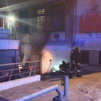 Reggio, vigili del fuoco ancora a lavoro sul Ponte della Libertà