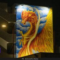 Il Drago e l'Araba Fenice: a Reggio e provincia i murales dedicati ai Vigili del fuoco - FOTO
