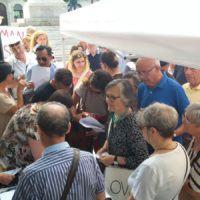 """Sit-in Hospice, Bova (Rhegium Julii): """"La cultura è dalla parte di chi opera per il bene"""""""