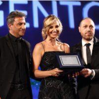 Bova Marina sul palco dei Nastri d'Argento con Salvatore Clemensi
