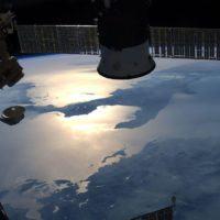 La Calabria 'baciata dal sole': lo scatto dell'astronauta Luca Parmitano