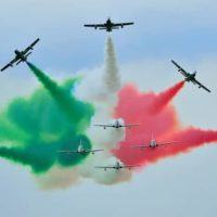 Frecce Tricolori a Reggio, per la prima volta si vedrà la 'Scintilla tricolore'