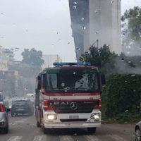 Reggio Calabria, incendio in un locale. Sul posto i Vigili del fuoco