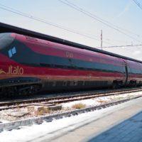 Il treno Italo arriva a Reggio Calabria per la prima volta