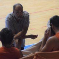 """Viola Basket, coach Moretti post Vis: """"Lo spirito di gioco è quello giusto, grazie ai tifosi presenti oggi"""""""