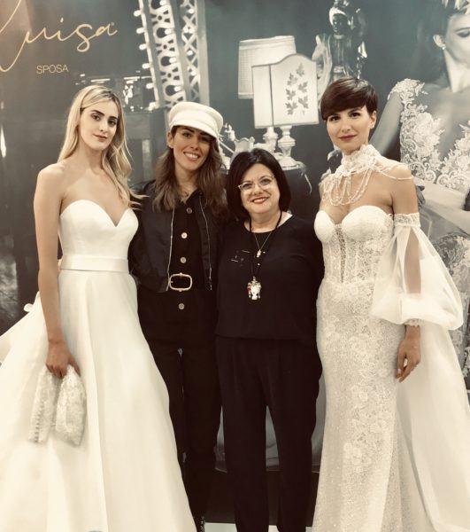 official photos 91cc2 a49d7 Sposa In tra il fascino dell'Arena e l'eleganza dei suoi abiti