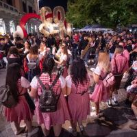 Cosenza - Anteprima Paulaner Oktoberfest Calabria: parata dei Tabakum Street Band - FOTO