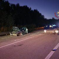 Ennesimo incidente sulla SS 106, due feriti