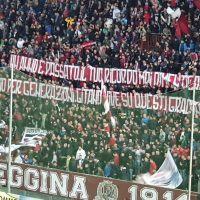 Reggina-Rende, la Curva Sud ricorda Antonio Ferrara