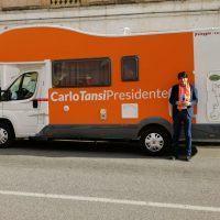 Regionali, Tansi a caccia di firme: aperta la raccolta anche a Reggio Calabria