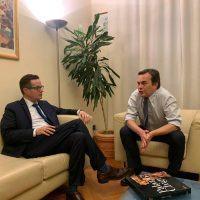 Made in Italy, Klaus Davi incontra Enzo Amendola. Riflessioni su San Luca